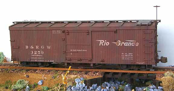 Boxcar Painted